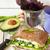 végétarien · sandwich · alimentaire · maïs · couleur - photo stock © lidante