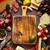 копченый · мяса · вино · изолированный · белый · фон - Сток-фото © lidante