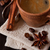 tasse · chaud · café · cannelle · star · anis - photo stock © lidante