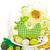 Easter · Eggs · ciasto · stoją · wiosennych · kwiatów · biały · Wielkanoc - zdjęcia stock © lidante