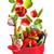 コレクション · 孤立した · 白 · 緑 · サラダ · 庭園 - ストックフォト © lidante
