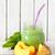 smoothie · verre · jar · fraîches · maison · épinards - photo stock © lidante