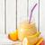 smoothie · verre · jar · fraîches · maison · banane - photo stock © lidante