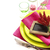 blanco · vacío · placa · amarillo · crisantemo · flores - foto stock © lidante