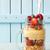 müsli · framboos · gezonde · ontbijt · voedsel - stockfoto © lidante