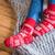aile · sıcak · çorap · anne · baba · kız - stok fotoğraf © lightfieldstudios