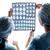 pracy · widok · z · boku · trzy · kobieta · lekarza - zdjęcia stock © lightfieldstudios