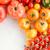 superior · vista · frescos · tomates · aislado · blanco - foto stock © lightfieldstudios