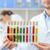 tudós · laboratórium · teszt · csövek · fiatal · kéz - stock fotó © lightfieldstudios