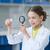 bilim · adamı · bakıyor · mikroskop · laboratuvar · okul · tıbbi - stok fotoğraf © lightfieldstudios