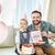 happy father and son stock photo © lightfieldstudios