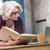 シニア · ビジネス女性 · 作業 · 文書 · 会議 · 表 - ストックフォト © lightfieldstudios