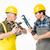 Construction workers with tools stock photo © LightFieldStudios