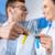 wetenschappers · werken · laboratorium · jonge · professionele · glimlachend - stockfoto © lightfieldstudios