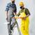 workmen with paint roller stock photo © lightfieldstudios