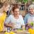 vrouwen · koken · samen · glimlachend · keuken · achtergrond - stockfoto © lightfieldstudios