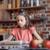 küçük · kız · gülen · mutfak · detay · eller - stok fotoğraf © lightfieldstudios