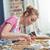 великолепный · женщину · кухне · улыбка · счастливым - Сток-фото © lightfieldstudios