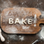 top view of edible lettering bake made from dough on wooden cutting board baking cookies concept stock photo © lightfieldstudios