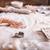 mulher · comida · mão · madeira · casa - foto stock © lightfieldstudios