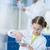 yoğunlaşmak · bilim · adamları · deney · laboratuvar · kadın - stok fotoğraf © lightfieldstudios
