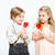 дети · позируют · белый · Cool · мало · счастливым - Сток-фото © lightfieldstudios