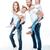 フル · 家族 · 白 · 母親 · 父 · 子供 - ストックフォト © lightfieldstudios