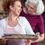 pão · de · especiarias · família · bandeja · mulher · homem - foto stock © lightfieldstudios