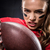 american football player holding ball stock photo © lightfieldstudios