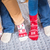 femenino · pies · de · punto · calcetines · primer · plano · vista - foto stock © lightfieldstudios