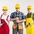 professional construction workers stock photo © lightfieldstudios