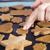 Noel · kurabiye · iki · çocuklar · çocuk · tablo - stok fotoğraf © lightfieldstudios