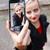 Selfie with camera stock photo © Lighthunter