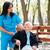 пожилого · врач · саду · инвалидов - Сток-фото © lighthunter