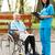 handen · verpleegkundige · ouderen · patiënt · man - stockfoto © lighthunter