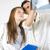 orvos · hallókészülék · férfi · beteg · kép · női - stock fotó © lighthunter
