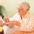 高齢者 · ベッド · 医師 · 女性 - ストックフォト © lighthunter