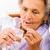 idős · nő · tabletták · idős · hölgy · elvesz · üveg - stock fotó © Lighthunter