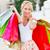 heureux · femme · Shopping · belle · jeune · femme · sur - photo stock © lighthunter