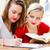fiatal · középiskola · diák · lányok · olvas · könyvek - stock fotó © lighthunter