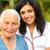 médico · enfermos · mujer · aire · libre · jóvenes · enfermera - foto stock © lighthunter