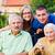 familia · ancianos · dama · sesión · hijo · nieta - foto stock © lighthunter