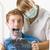 dentista · jovem · abrir · boca · oral · mulher - foto stock © lighthunter
