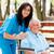 cuidar · doente · idoso · paciente · casa - foto stock © lighthunter