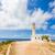 deniz · feneri · parlak · mavi · gökyüzü · bo · gökyüzü - stok fotoğraf © lighthunter