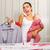 enojado · madre · jóvenes · hasta · lavandería - foto stock © Lighthunter