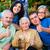 gondozó · család · remek · boldog · csoportkép · orvos - stock fotó © Lighthunter