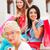 3 ·  · 女の子 · カラフル · ショッピングバッグ · 白 · 女性 - ストックフォト © lighthunter