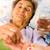 kiegészítők · idősek · nővérek · kezek · gyenge · idős - stock fotó © Lighthunter