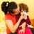 anne · burun · sevmek · saç · yardım - stok fotoğraf © Lighthunter